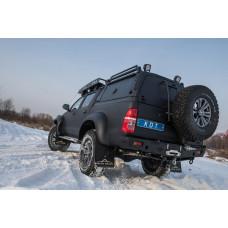 Каркас грузовой многофункциональный KDT для Toyota Hilux (комплектация 2)