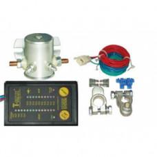 Комплект T-MAX для установки второй АКБ с индикатором заряда