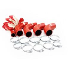 Патрубки радиатора redBTR силиконовые (УАЗ HUNTER дв. ЗМЗ 409 Евро-3)