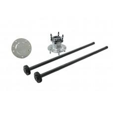 Комплект разгруженных полуосей  ИЖ-ТЕХНО для ВАЗ НИВА (24 шлица/765 мм) без ABS