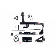 Калитка РИФ с фаркопом в штатный задний бампер Toyota Land Cruiser 100