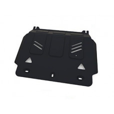 Защита картера АВТОБРОНЯ для MITSUBISHI L200 2015 - (двиг: 2,4DID; 2,4DID H.P. 4WD)