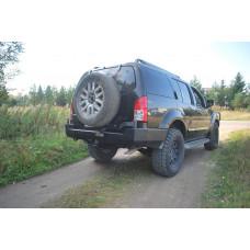 Бампер задний силовой для Nissan Pathfinder R51